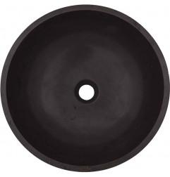 Pietra Grey Honed Round Basin Limestone 1637