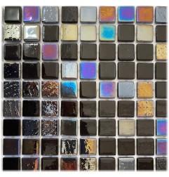 Leyla Manhattan Glass Mosaic Tiles