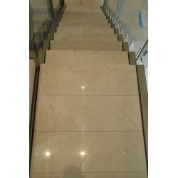 Bianca Perla Limestone Tiles - Light Shade - Polished