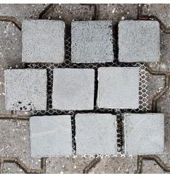 Bluestone Sawn & Natural Edges Brick Pattern Sheeted Cobblestone