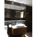 Pietra Grey Limestone Tile - Wall:Pietra Grey Limestone Tile Polished|Floor:Pietra Grey Honed