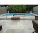Travertine Classico Anticato Tile-Medium Shade-Tumbled