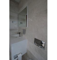 Bianca Perla Limestone Tile - Medium Shade - Honed