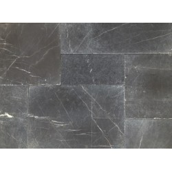 Pietra Grey French Pattern Tumbled Tile Limestone
