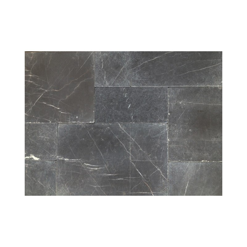 Pietra Grey Limestone Paver - Tumbled - French Pattern 30mm