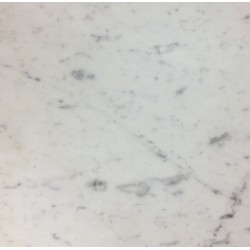 Bianco Carrara C Italian Marble Tile - Honed