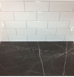 Spanish Gloss White Ceramic Subway Tiles|Non-Rectified