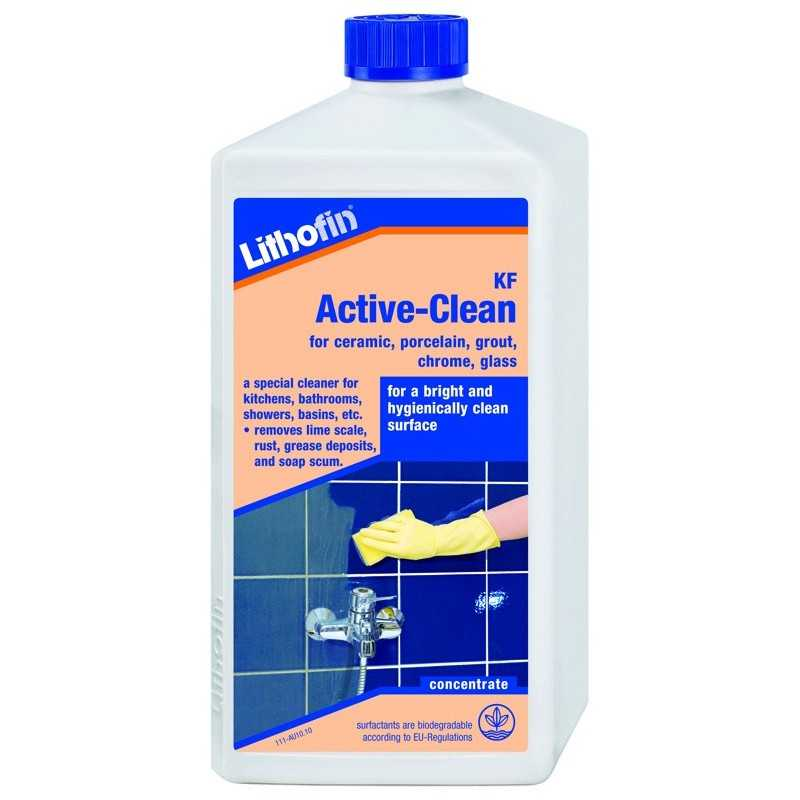 Cleaner for ceramic tile