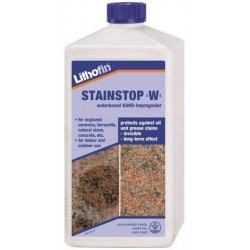Lithofin Stain-Stop W|Premium Water-Based Sealer (Made in Germany)
