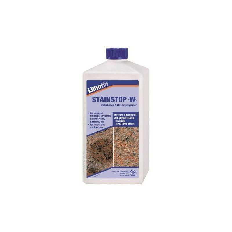 Lithofin Stainstop W Water Based Stone Tile Sealer