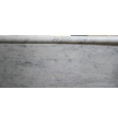 Carrara Marble Bullnose|Honed|Capping-Skirting Tiles