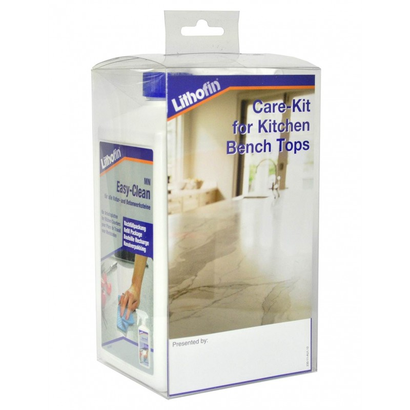 Lithofin Care-Kit Compact|For Kitchen Benchtops (Made in Germany)
