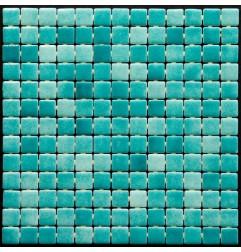 Leyla Tokyo Glass Mosaic Pool Tiles