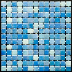 Ela Sydney Mix Glass Mosaic Tiles