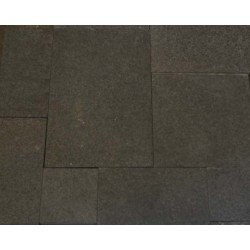 Diamond Black Flamed Granite French Pattern(G684) Basalt
