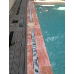 Travertine Rosso-Red- Pavers-Vein Cut-Tumbled
