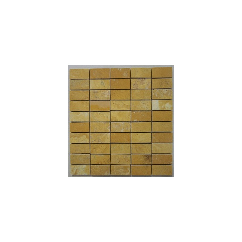 travertine floor kitchen giallo filled polished travertine mosaic 2918
