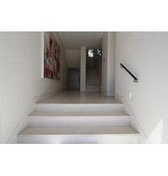 Crema Luminous Step Treads & Risers - Limestone - Honed