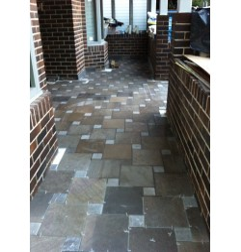 Pietra Mocha Anticato Limestone Tile - Tumbled
