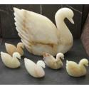 Swan Onyx Carved