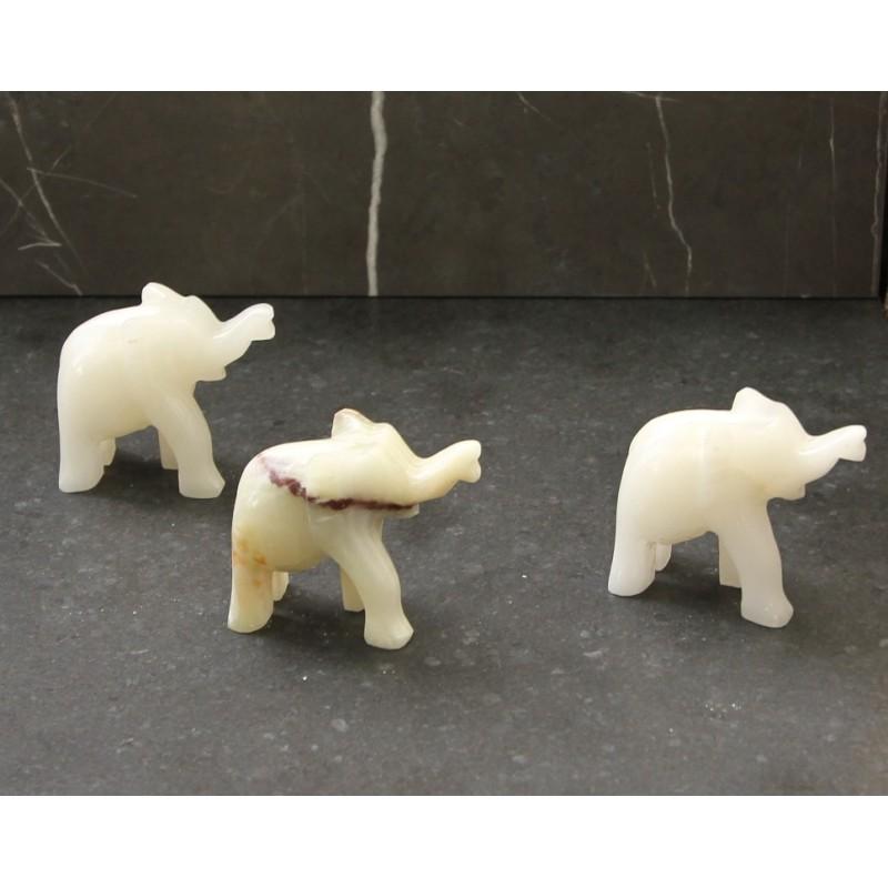 Elephant Onyx Carved