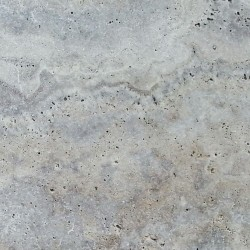 Travertine Silver Pavers Tumbled French Pattern