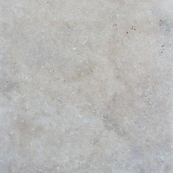 Ivory French Pattern Tumbled Tile Travertine