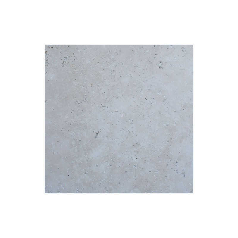 Travertine Ivory Tumbled Paver French Pattern