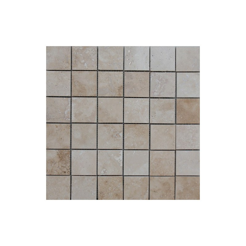Travertine Classico Filled Honed Mosaic