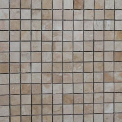 Classico Filled Polished Travertine Mosaic 25x25