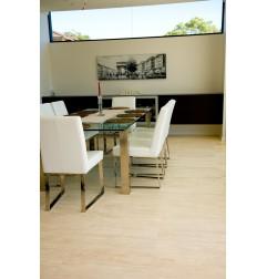 Travertine Chiaro White Tiles - Vein Cut - Epoxy Filled & Honed