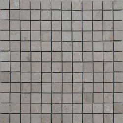 New Botticino Honed Marble Mosaic 25x25