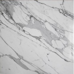 Calacatta Statuario Satin Marble Porcelain Backed