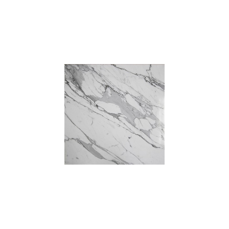 Calacatta Statuario Marble Tiles| Porcelain Back - Satin