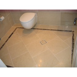 Royal Botticino Marble Tiles - Honed