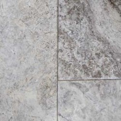 Silver Vogue Edge French Pattern Tumbled Tile Travertine