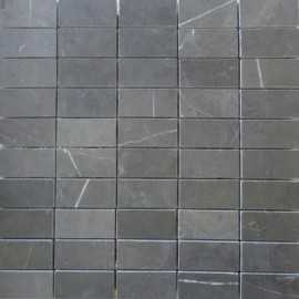 Pietra Grey Honed Limestone Mosaic 60x30