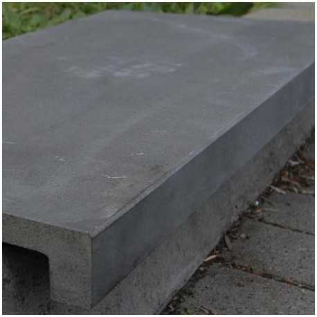 Bluestone Honed Sawn Rebated Pencil Edge