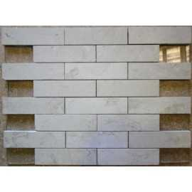 New Botticino Interlocking Mosaic Marble - Honed