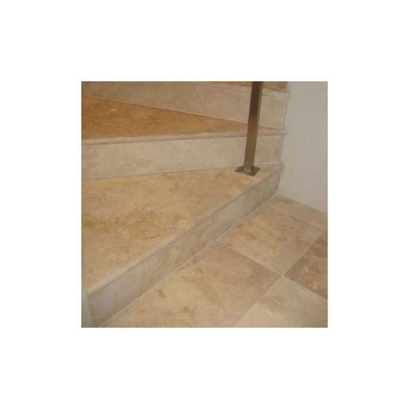 Classico Riser Epoxy Filled Honed Travertine