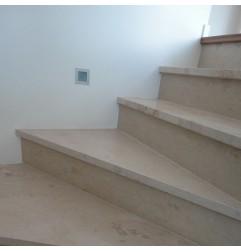 New Botticino Step Treads & Risers Marble - Honed
