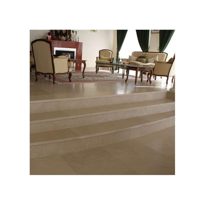 Gohera Step Riser Honed Limestone