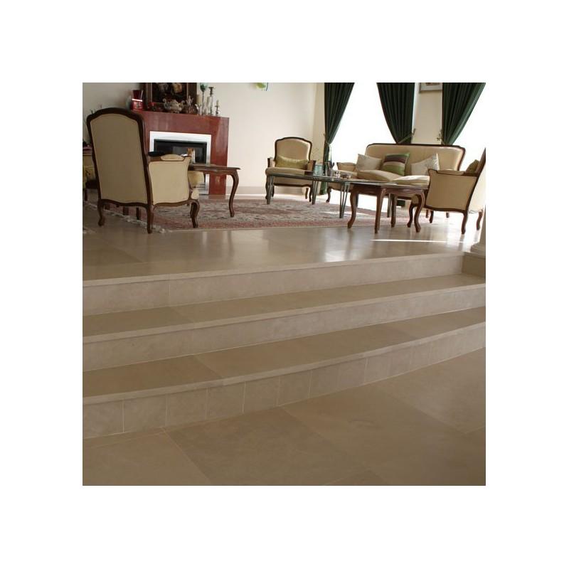 Gohera Limestone Step Treads & Risers - Honed