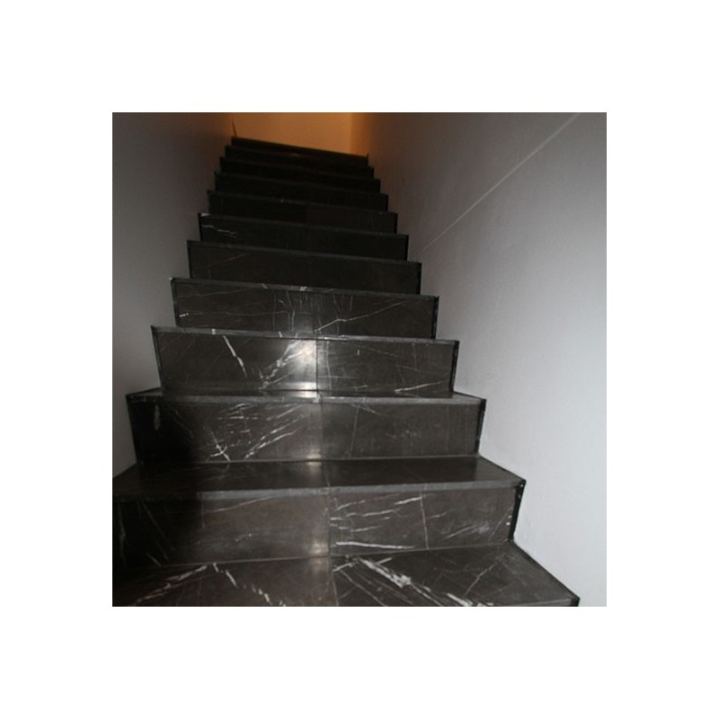 Pietra Grey Step Treads & Risers Limestone - Honed