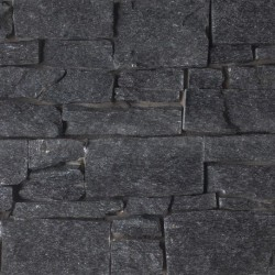 Alpine Black Rock Panel Interlocking Granite