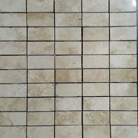 Classico Filled Polished Travertine Mosaic 60x30