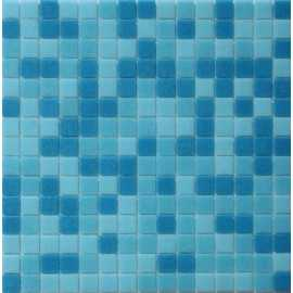 Mosaic Corp Azure Mix Italian Glass Mosaic Tiles