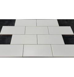 White Matt Non-Rectified Subway Ceramic 150x75
