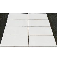Spanish Handmade Super White Matt Ceramic 150x75