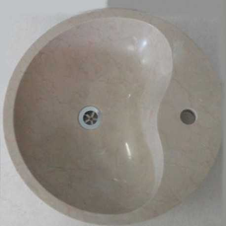 Royal Botticino Marble - Oyster Basin - Polished
